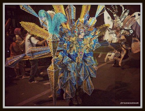 Peserta Solo Batik Carnival  2012