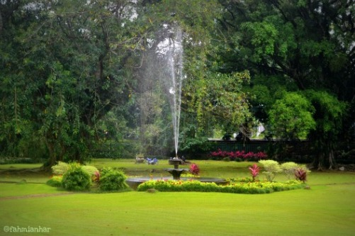 Air Mancur Kebun Raya