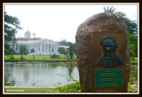 Istana Bogor Halaman Belakang