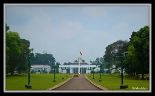 Istana Bogor Depan
