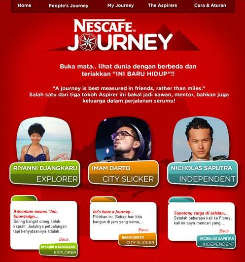 Aspirer Nescafe Journey
