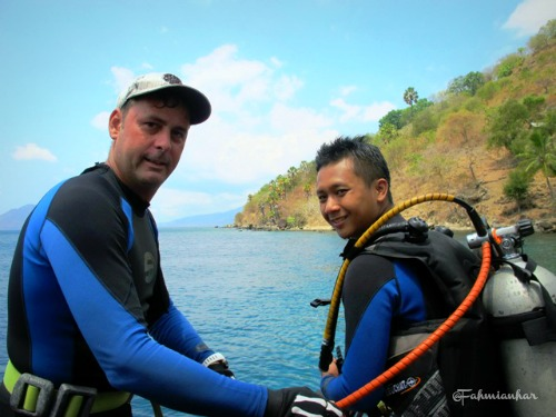 Diving Preparation with Donovan