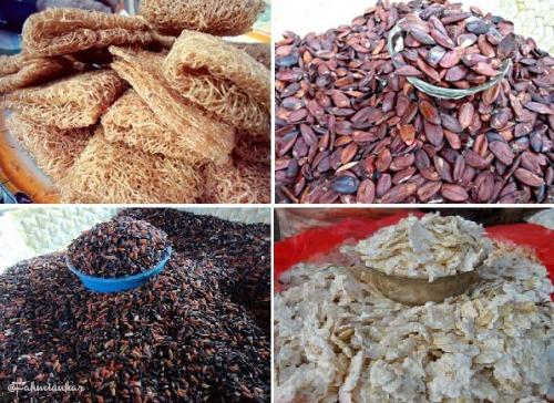 Kue Rambut, Kenari, Beras Hitam & Jagung Titi Alor