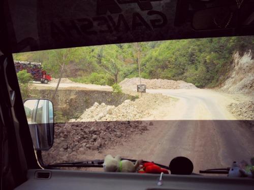 Jalan Menuju Ruteng