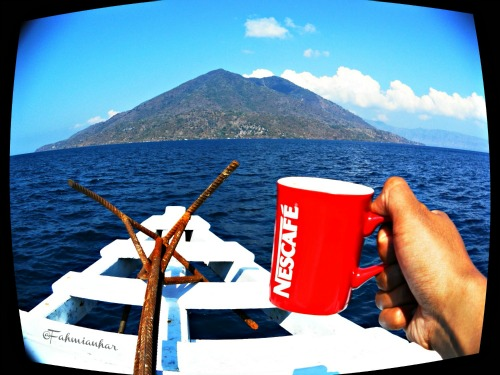 Red Mug Toast Nescafe Journey - Pulau Pura Alor