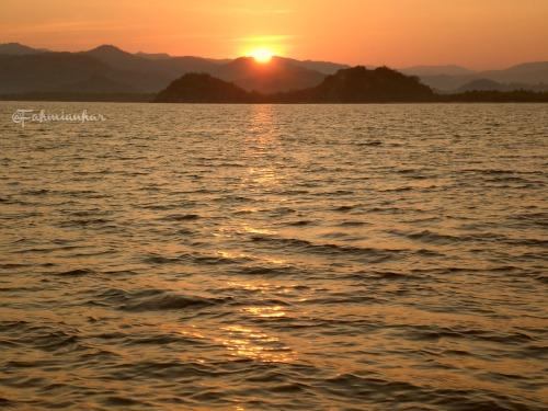 Sunrise in Komodo National Park
