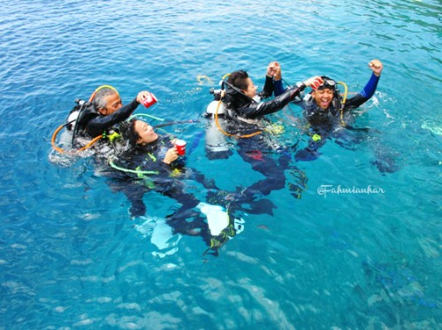 Team Explorer Nescafe Journey Diving di Alor