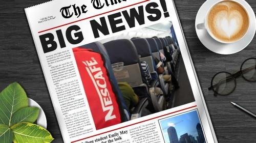 nescafe journey on board