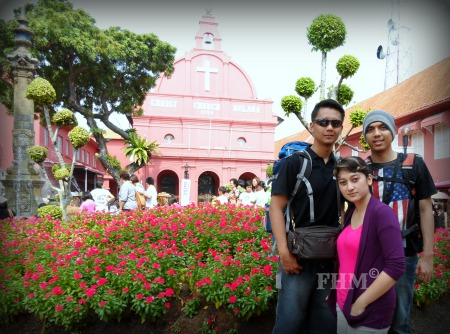 Backpacking To Malaka - Red Square