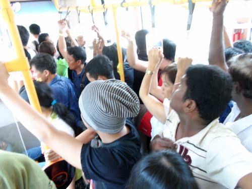 Inside Panorama Bus Melaka