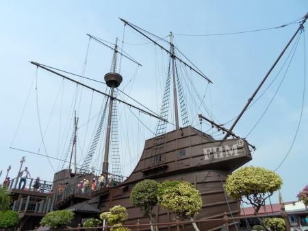 Maritime Museum Melaka, Replika Kapal Portugis