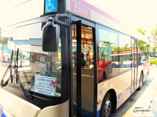 Panorama Bus Melaka