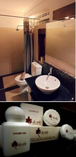 Des Solo Hotel - Toilet
