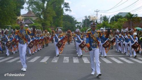 Drumband Canka Lokananta AKMIL Magelang Marchingband