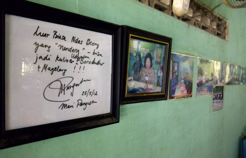 Mangut Beong Magelang - Wall Of Fame