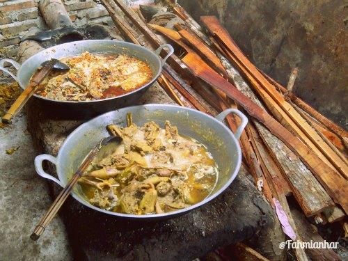 Mangut Beong Opor Ayam Magelang