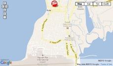 Tune Hotel Kuta Map