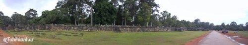 Reruntuhan Angkorian Royal Palace