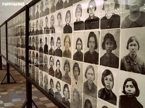 Victims of Tuol Sleng Genocide Museum