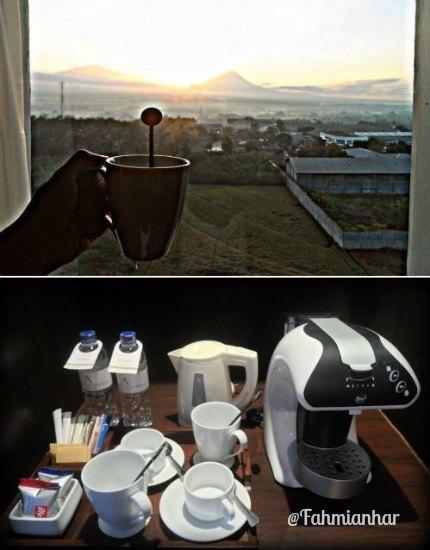 Atria Hotel Magelang Sunrise View
