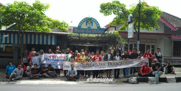 peserta Djeladjah Plengkoeng Magelang dan Forum Traveller Kaskus