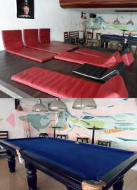 Billiard & Lounge Eighty8 Hostel Backpackers Phnom Penh